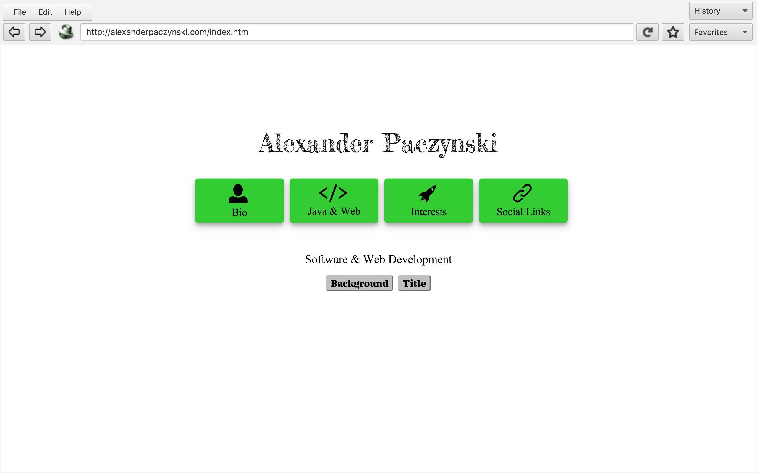 Alex Paczynski   Home